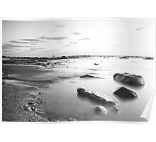 Moonscape, Compton Bay Poster