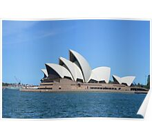 Sydney Opera House Blue Harbour Poster