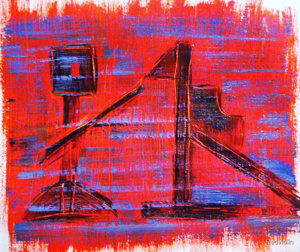Ned Kelly and His Nag by Redviolin