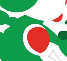 Yoshi - N64 Smash Bros Sticker