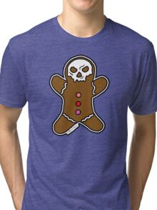 Run Run, The Gingerbread Man Tri-blend T-Shirt