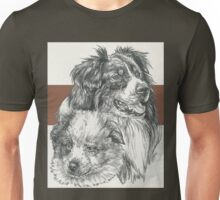 Australian Shepherd Father & Son Unisex T-Shirt