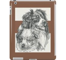 Australian Shepherd Father & Son iPad Case/Skin