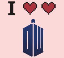 I love love Doctor Who Baby Tee