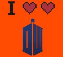 I love love Doctor Who Kids Tee