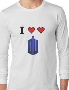 I love love Doctor Who Long Sleeve T-Shirt