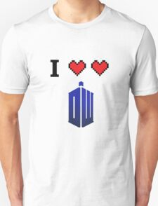 I love love Doctor Who Unisex T-Shirt