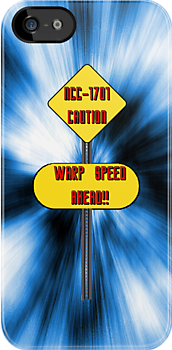 Warning: Warp Speed Ahead! by amanoxford