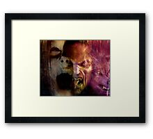 They Only Come Out At Night Framed Print