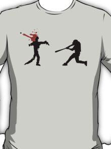 Baseball Versus Zombie T-Shirt