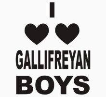 I Love Love Gallifreyan Boys One Piece - Short Sleeve