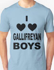 I Love Love Gallifreyan Boys Unisex T-Shirt