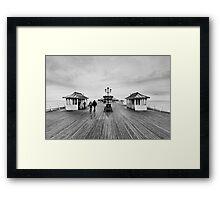Cromer Pier Framed Print