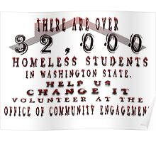 HHOT/OCE @ EWU Homeless Students Poster