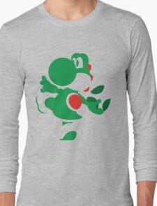 Yoshi - N64 Smash Bros Long Sleeve T-Shirt