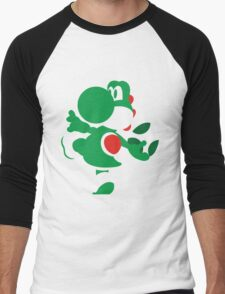 Yoshi - N64 Smash Bros Men's Baseball ¾ T-Shirt