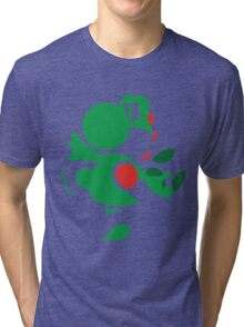 Yoshi - N64 Smash Bros Tri-blend T-Shirt