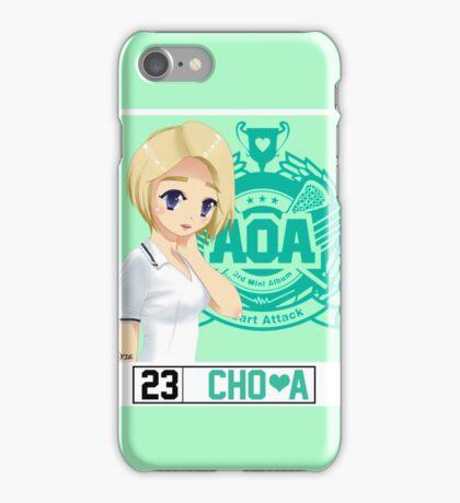 AOA Choa (Heart Attack) iPhone Case/Skin