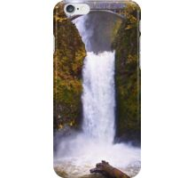 Autumn at Multnomah Falls, Oregon iPhone Case/Skin