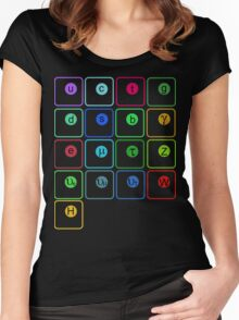 Standard Model of Physics Women's Fitted Scoop T-Shirt
