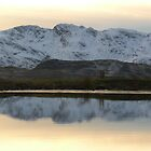 Sunset reflection by CumbrianRambler