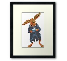 March Hare Framed Print