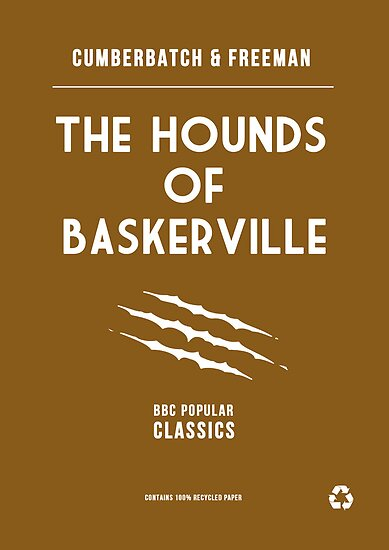 BBC Sherlock - The Hounds of Baskerville Minimalist by ofalexandra
