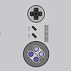 Snes Controller/Gamepad by Guilherme Bermo