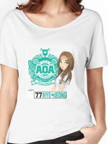 AOA Hyejeong (Heart Attack) Women's Relaxed Fit T-Shirt