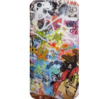 Urban Graffiti Mess iPhone Case/Skin