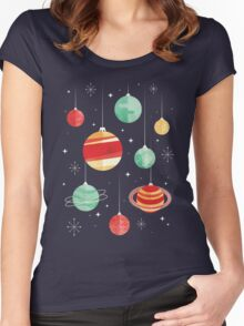 Joy to the Universe Women's Fitted Scoop T-Shirt