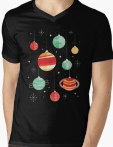 Joy to the Universe Mens V-Neck T-Shirt