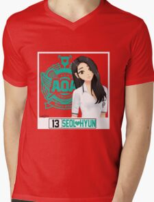 AOA Seolhyun (Heart Attack) Mens V-Neck T-Shirt