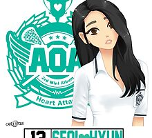 AOA Seolhyun (Heart Attack) by Christie Mannino