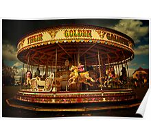 Golden Gallop Poster