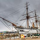 Old And New Ship by Thasan