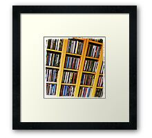 Life in Boxes Framed Print