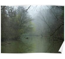 Foggy Tinker Creek~ Poster