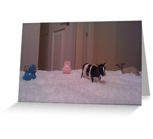 Snow Farm Greeting Card