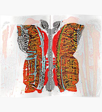 Metamorphosis Monarch Poster