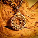 Working Sundial Necklace by Veronica Maur'er