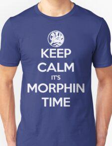 Keep Calm It's Morphin Time (Blue) T-Shirt