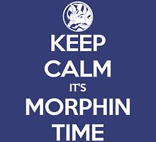 Keep Calm It's Morphin Time (Blue) Unisex T-Shirt