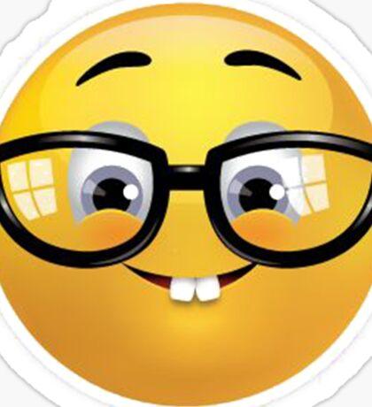 Nerd Emoji Sticker