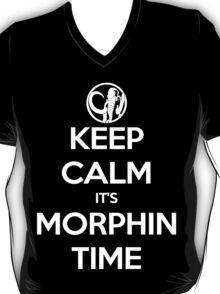 Keep Calm It's Morphin Time (Black) T-Shirt