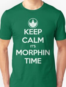 Keep Calm It's Morphin Time (Green) T-Shirt