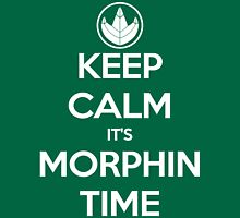 Keep Calm It's Morphin Time (Green) Unisex T-Shirt