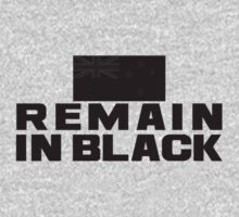 REMAIN IN BLACK Kids Tee