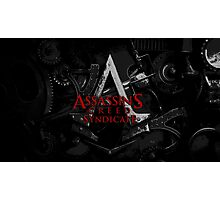 Assassins Creed Syndicate Logo Photographic Print