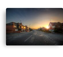 Suburban Sunrise 9.0 Canvas Print